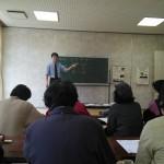 2月12日牛尾校区コミュニティにて健康教室講演